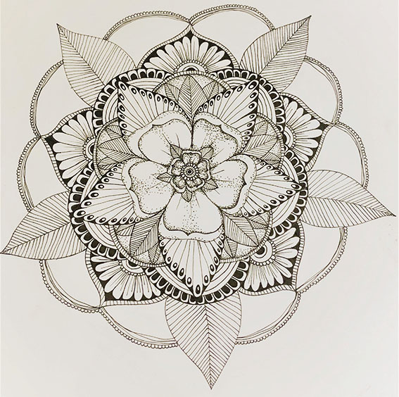 Draw Mandala workshop